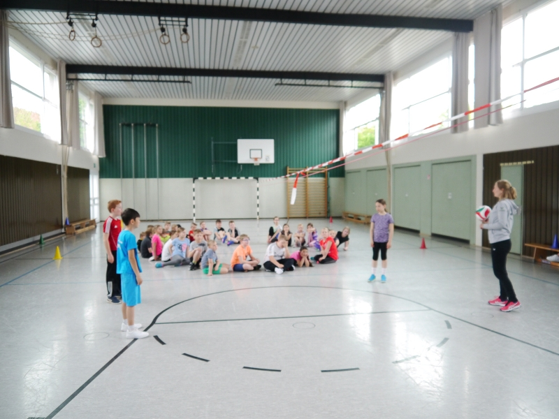 Volleyball – Schnuppertraining 26.10.19