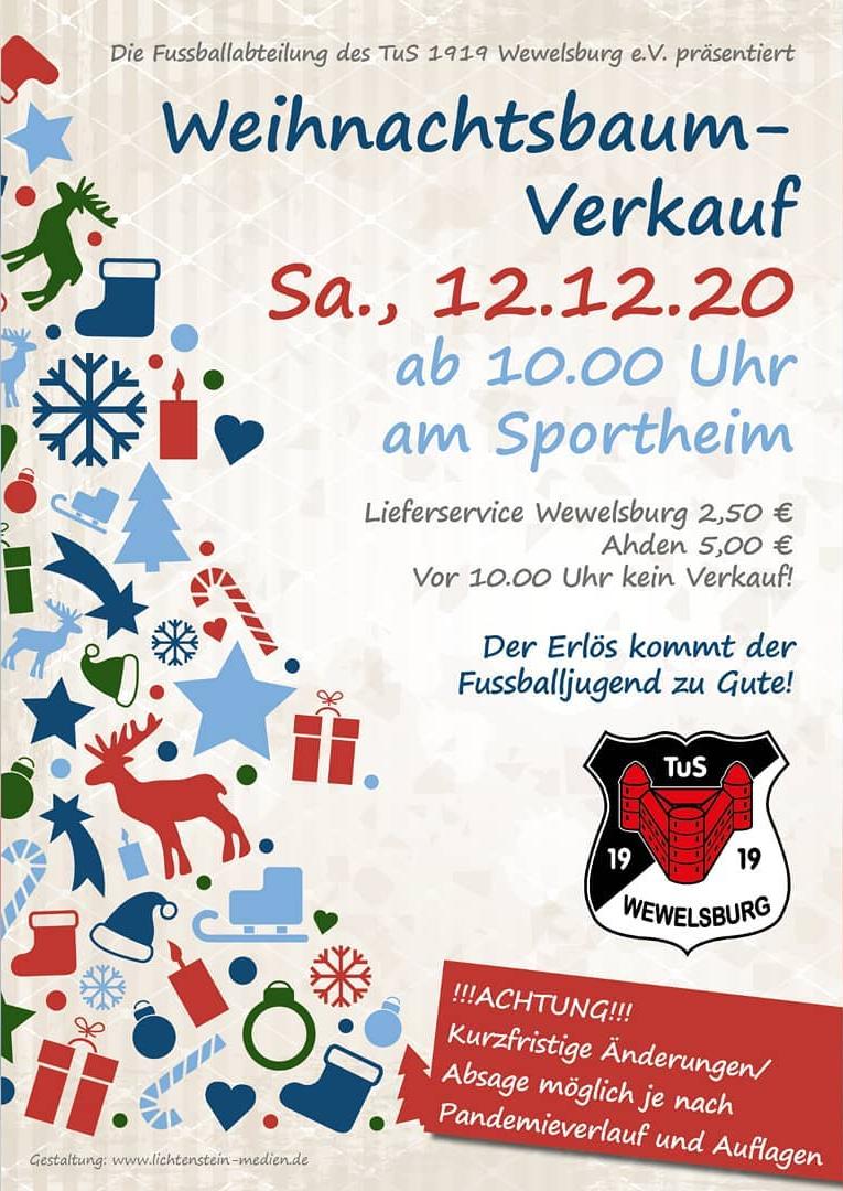 Weihnachtsbaum-verkauf Wewelsburg